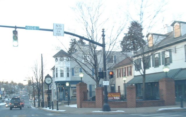 The square in Elizabethtown, PA